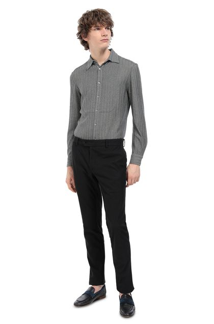 MISSONI Men's shirts Grey Man - Front