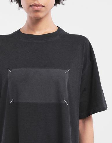 TOPS T-shirt logo Noir