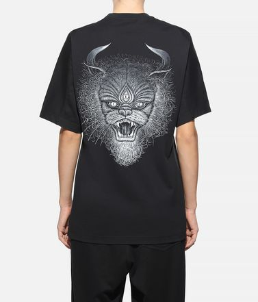 Y-3 Kurzärmliges T-shirt Dame Y-3 Graphic Tee r