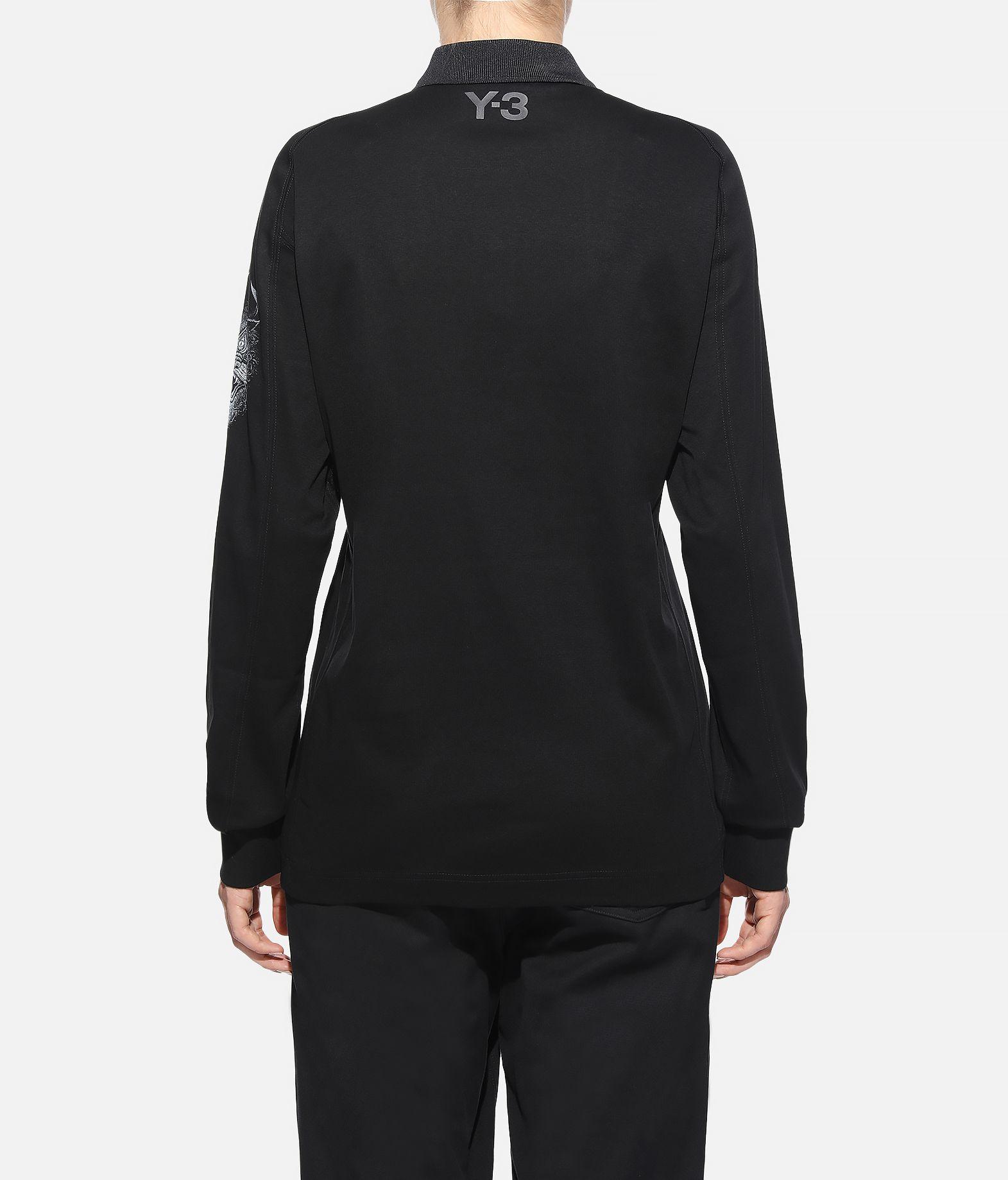 Y-3 Y-3 Long Sleeve Polo Shirt  Polohemd Dame d