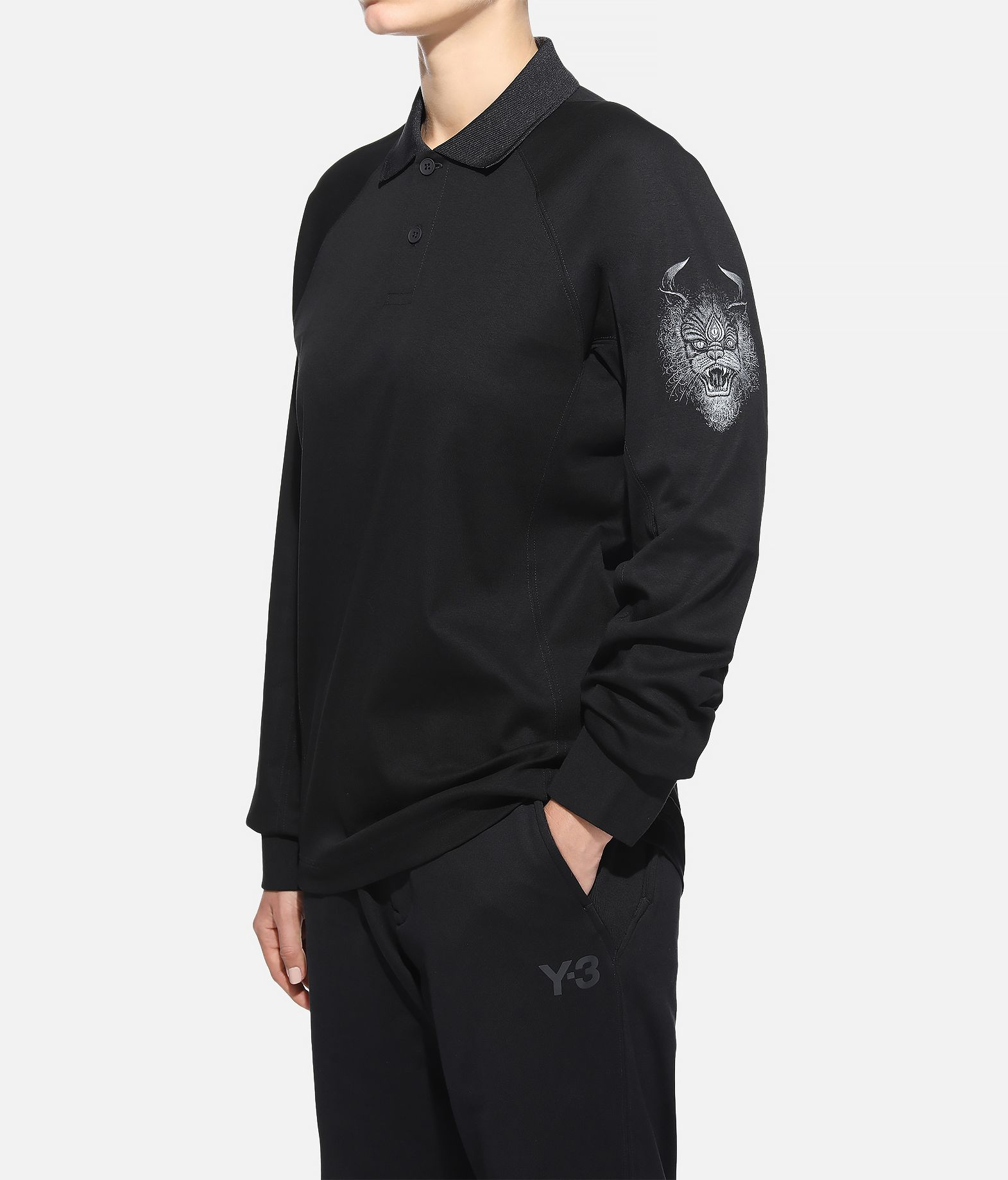Y-3 Y-3 Long Sleeve Polo Shirt  Polo Woman e