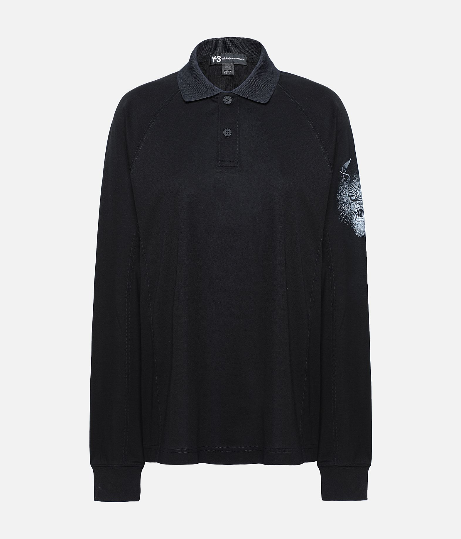 Y-3 Y-3 Long Sleeve Polo Shirt  Polo Woman f
