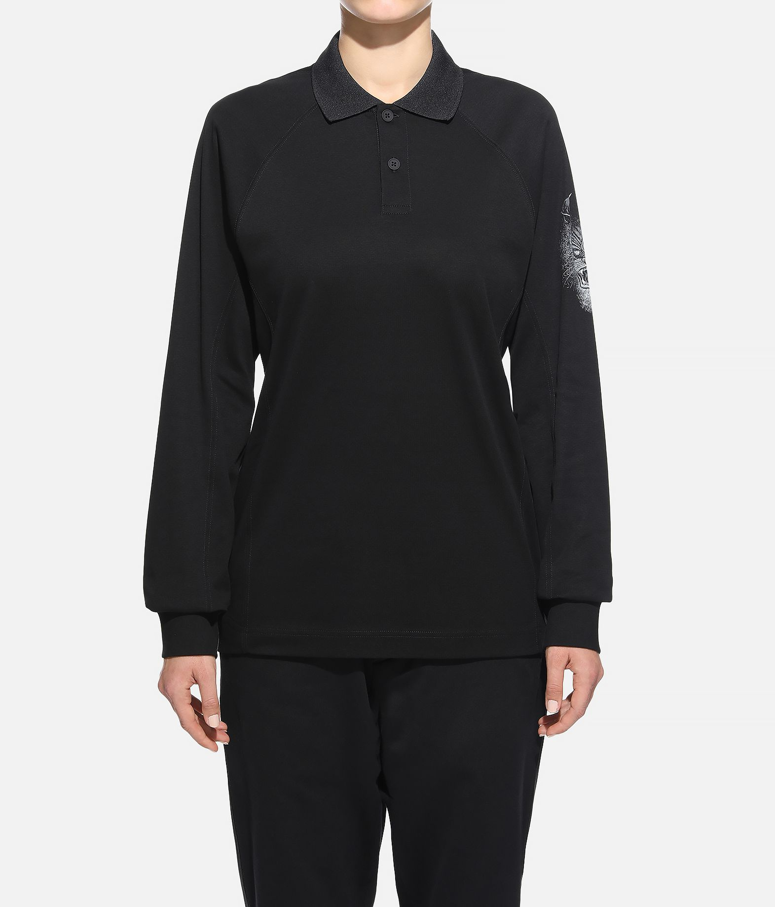Y-3 Y-3 Long Sleeve Polo Shirt  Polo Woman r