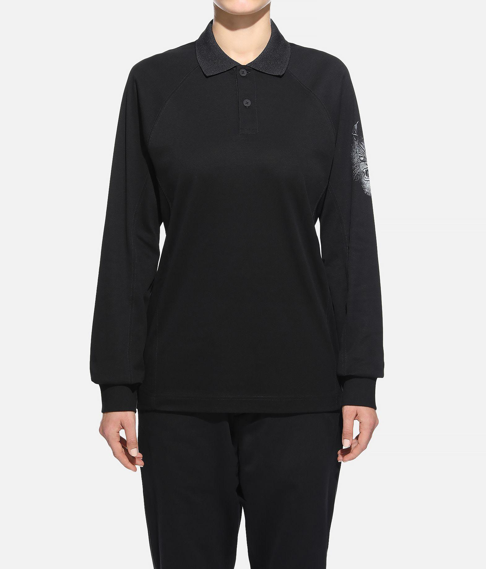 Y-3 Y-3 Long Sleeve Polo Shirt  Polohemd Dame r