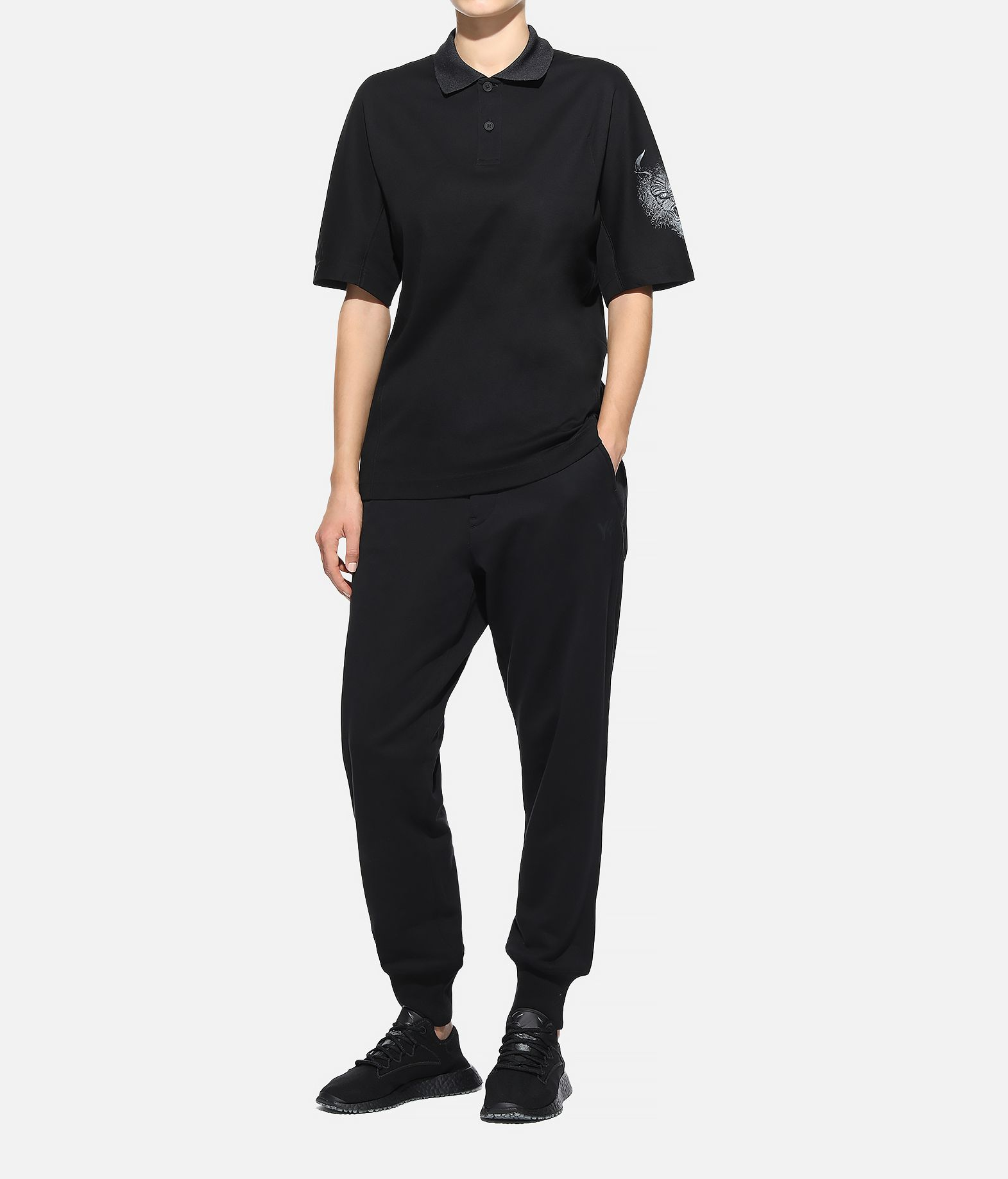 Y-3 Y-3 Short Sleeve Polo Shirt  Polo Woman a