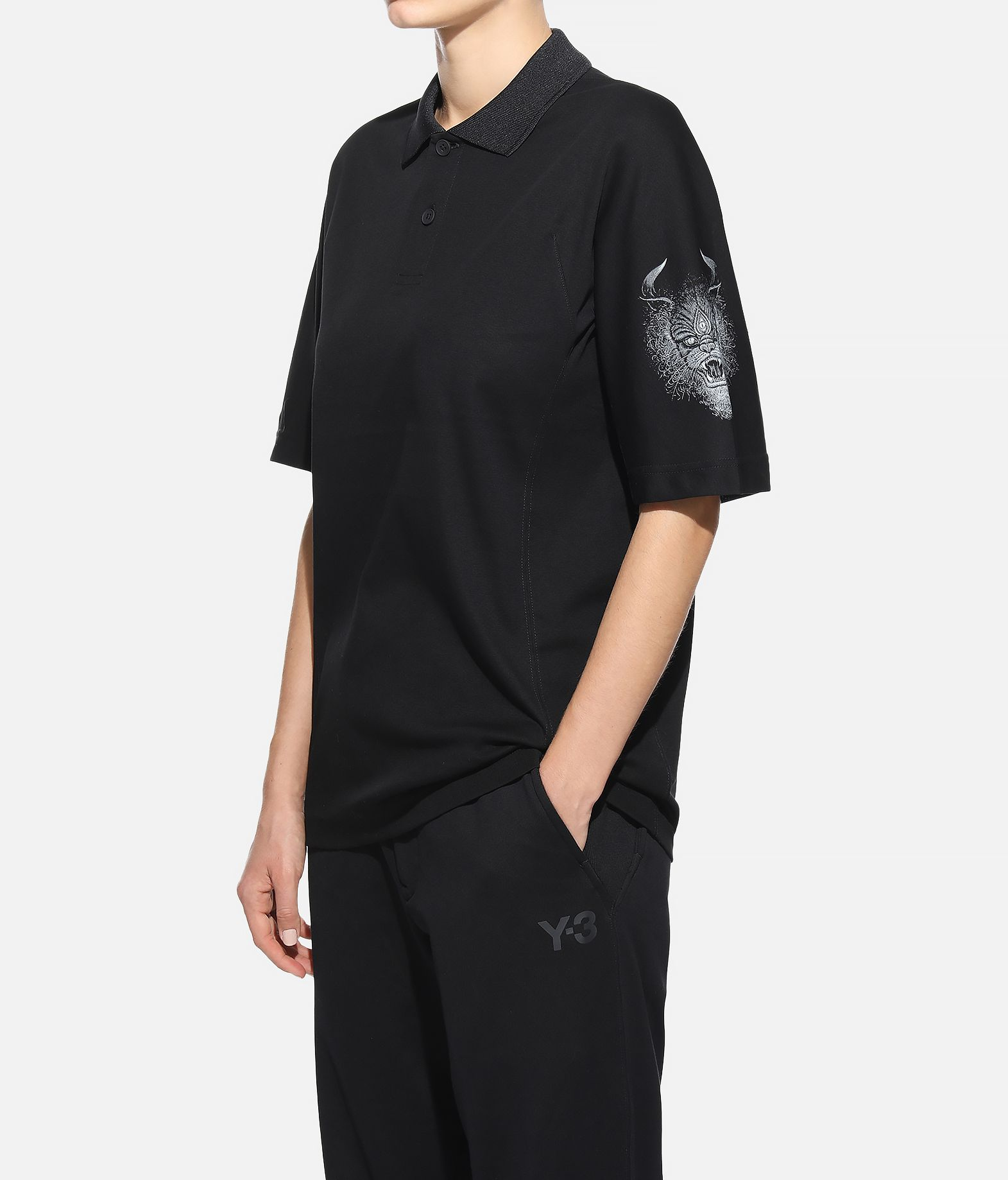 Y-3 Y-3 Short Sleeve Polo Shirt  Polo Woman e