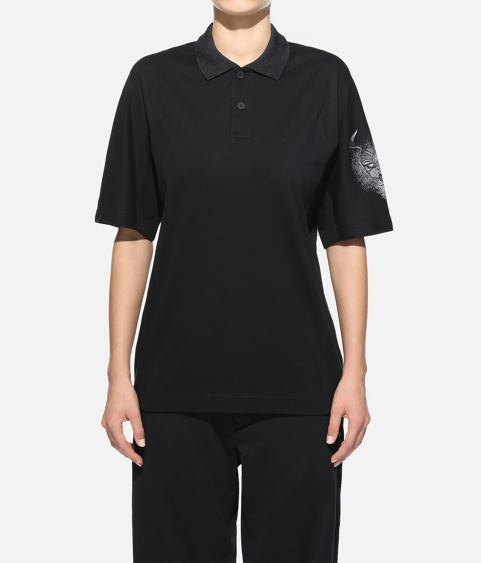 Y-3 Y-3 Short Sleeve Polo Shirt  Polo Woman r