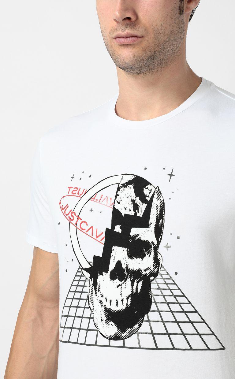 JUST CAVALLI Planet skull t-shirt Short sleeve t-shirt Man e