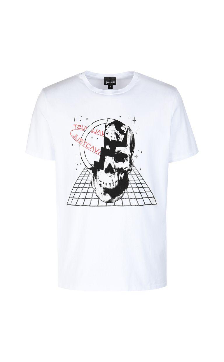 JUST CAVALLI Planet skull t-shirt Short sleeve t-shirt Man f