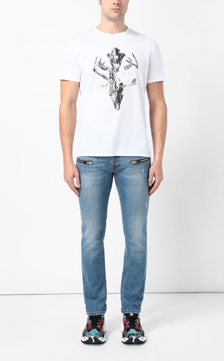 JUST CAVALLI Skull t-shirt Short sleeve t-shirt Man d