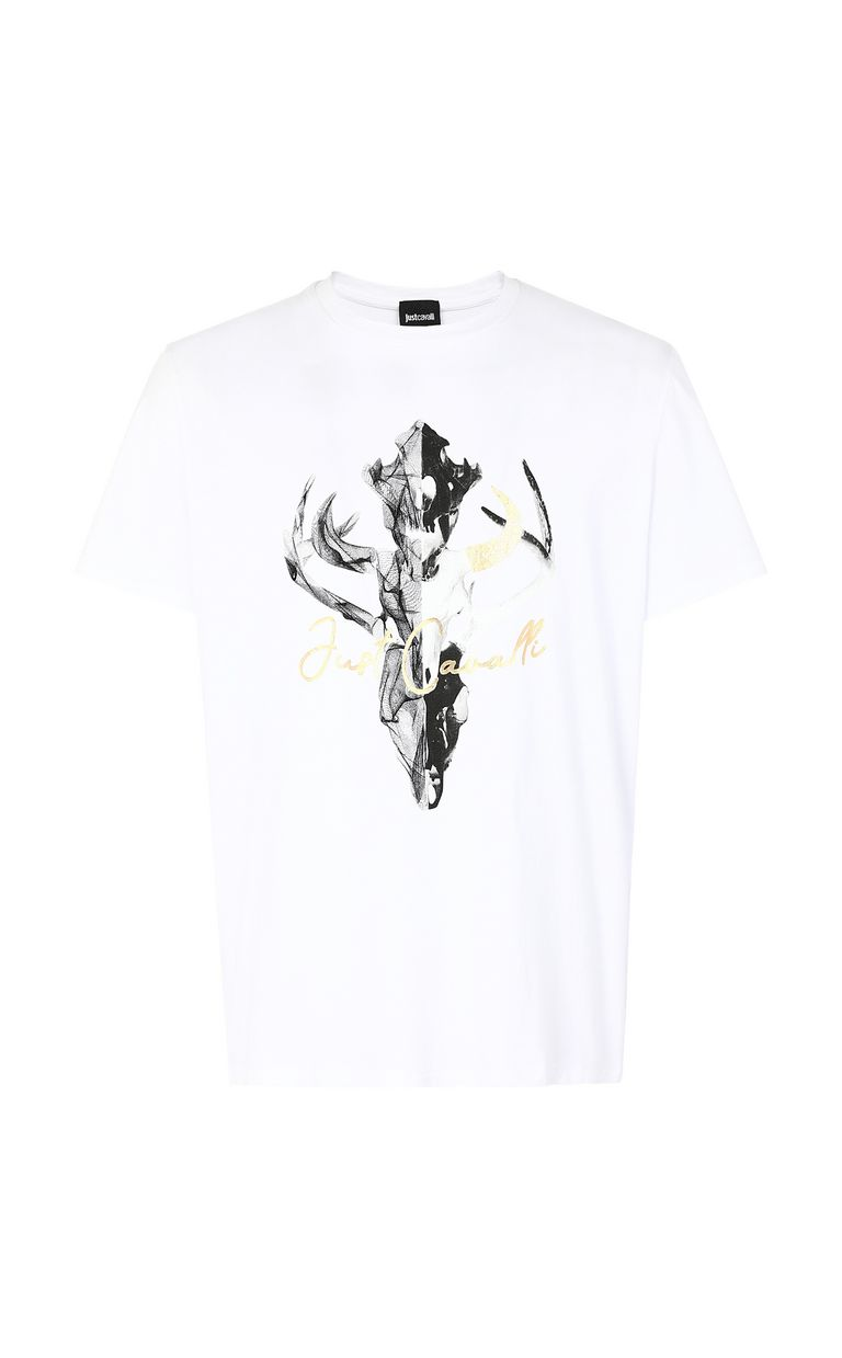JUST CAVALLI Skull t-shirt Short sleeve t-shirt Man f