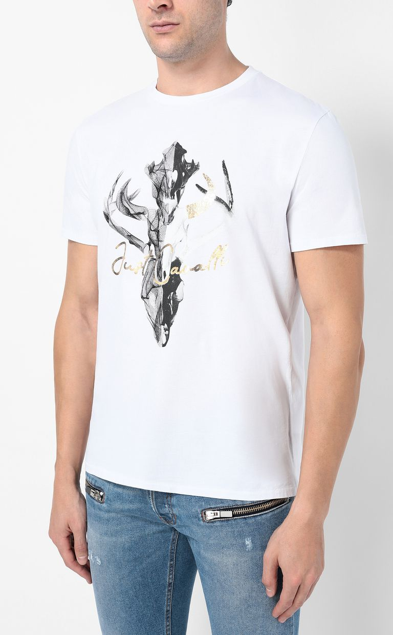 JUST CAVALLI Skull t-shirt Short sleeve t-shirt Man r