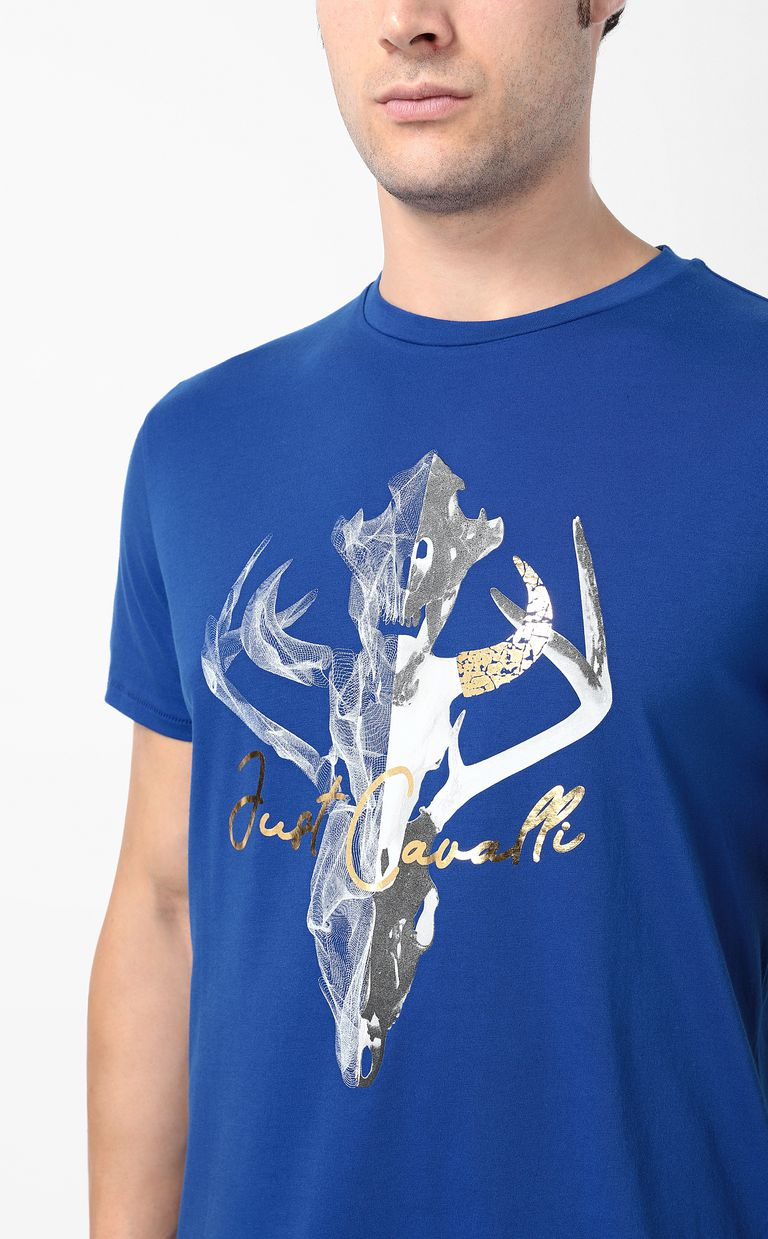 JUST CAVALLI Skull t-shirt Short sleeve t-shirt Man e