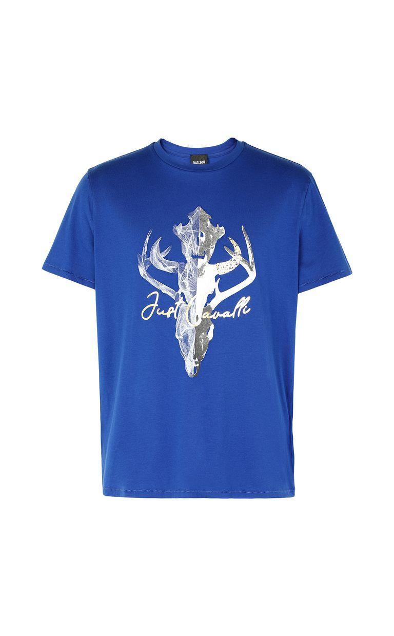 JUST CAVALLI Skull t-shirt Short sleeve t-shirt Man f