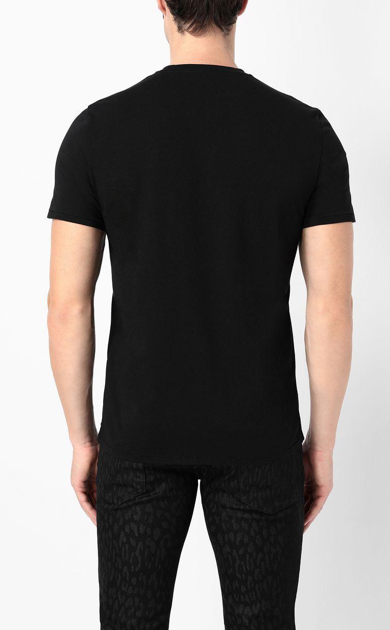 JUST CAVALLI Cheetah t-shirt Short sleeve t-shirt Man a