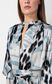 "JUST CAVALLI Top with ""Just Flow"" print Top Woman e"