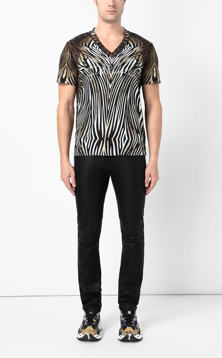 "JUST CAVALLI T-shirt with ""Symbiosis"" print Short sleeve t-shirt Man d"