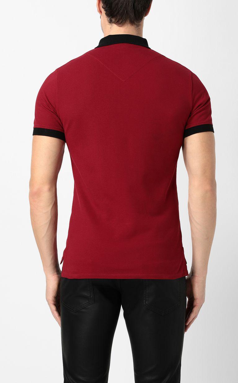 JUST CAVALLI Tiger-skull polo shirt Polo shirt Man a