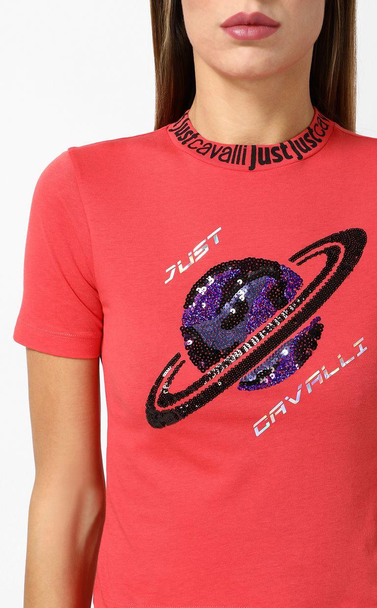 JUST CAVALLI Planet t-shirt Short sleeve t-shirt Woman e