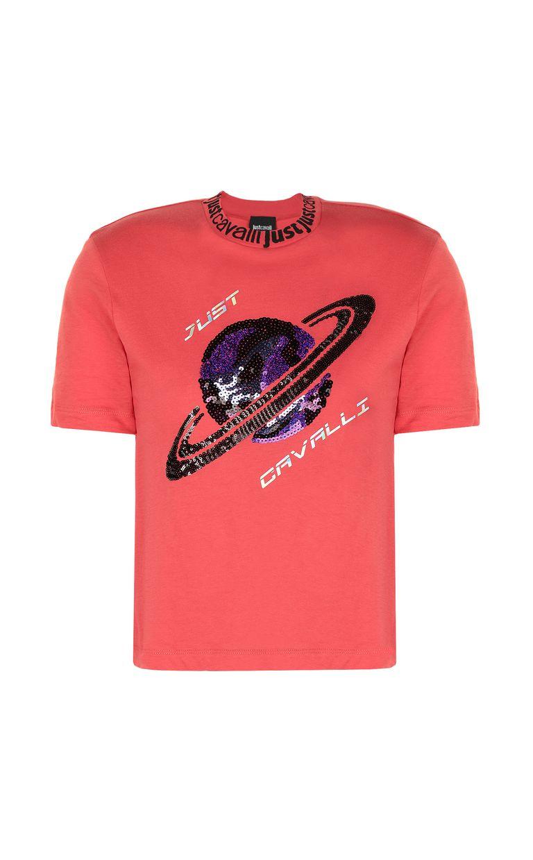 JUST CAVALLI Planet t-shirt Short sleeve t-shirt Woman f