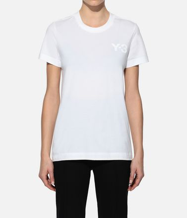 Y-3 T-shirt manches courtes Femme Y-3 CL Logo Tee r