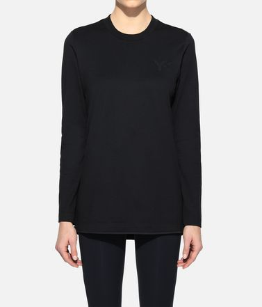 Y-3 Long sleeve t-shirt Woman Y-3 Classic Logo Tee r