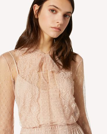 REDValentino TR3ABC451GK 377 Shirt Woman e