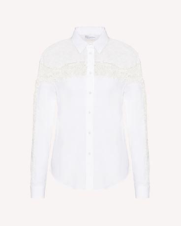 REDValentino TR3ABC354S8 001 Shirt Woman a