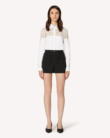 REDValentino TR3ABC354S8 001 Shirt Woman f