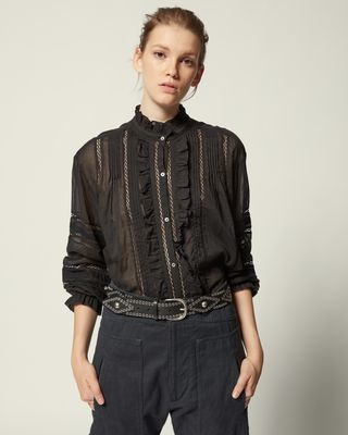 ISABEL MARANT ÉTOILE SHIRT & BLOUSE Woman VALDA SHIRT r