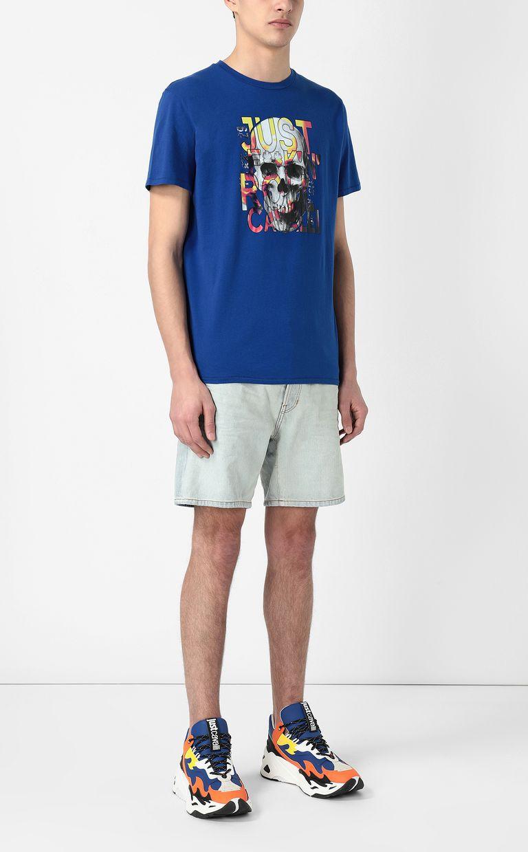JUST CAVALLI Skull t-shirt Short sleeve t-shirt Man d
