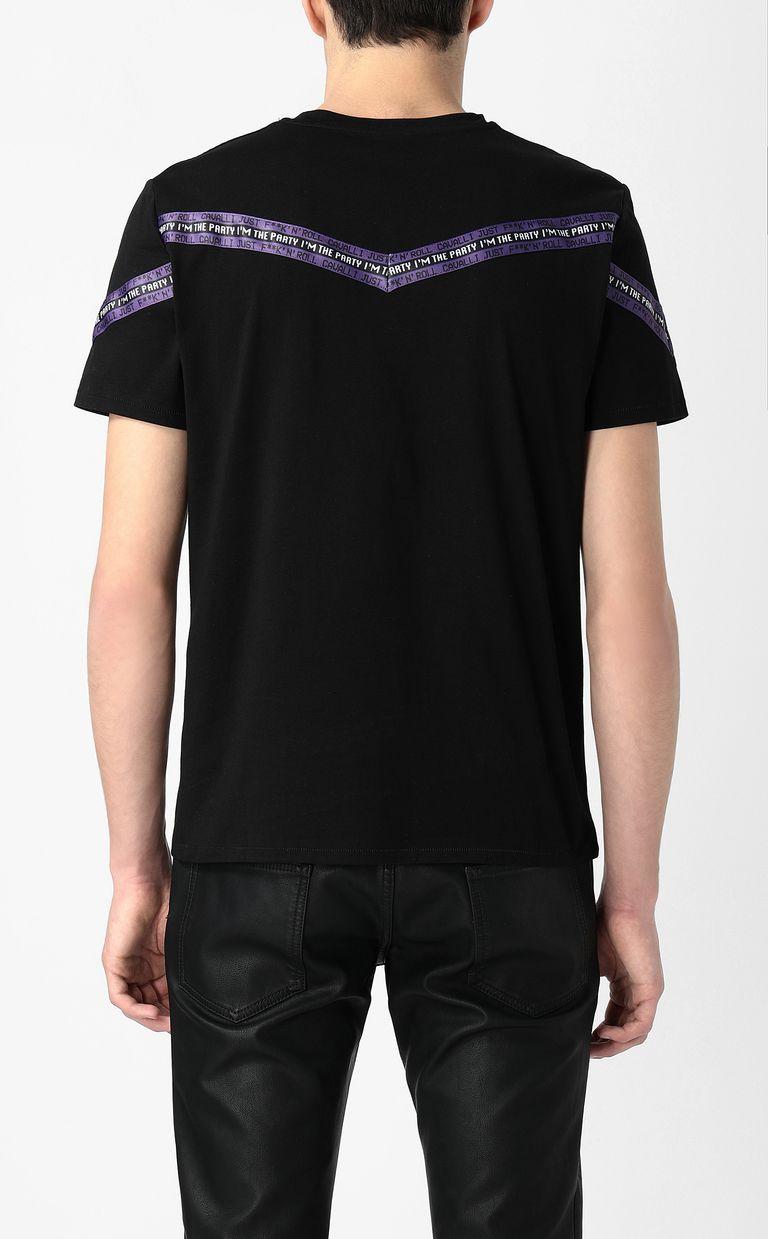 JUST CAVALLI T-shirt with band detail Short sleeve t-shirt Man a