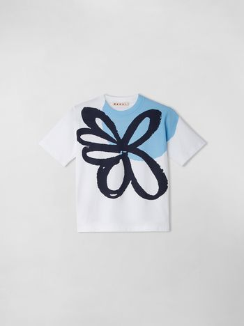 Marni T-SHIRT WITH LYLEE PRINT  Woman f