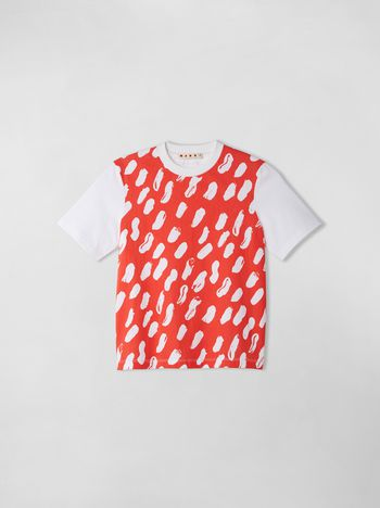 Marni T-SHIRT WITH GEA PRINT Woman f