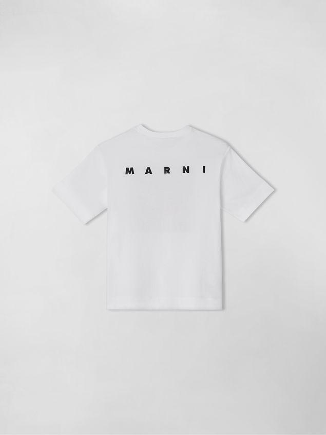 "Marni COTTON T-SHIRT WITH ""I BELIEVE"" PRINT Man - 2"