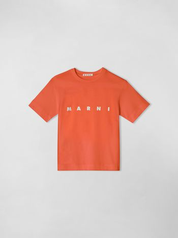 Marni SHORT SLEEVE COTTON T-SHIRT  Man f