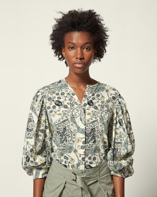 ISABEL MARANT ÉTOILE SHIRT & BLOUSE Woman UNATIL TOP r