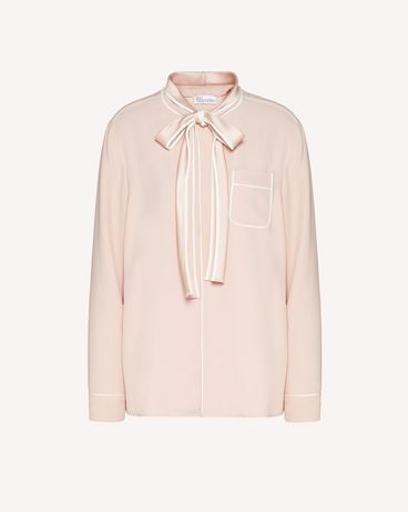 REDValentino TR3ABC900F1 R13 Shirt Woman a