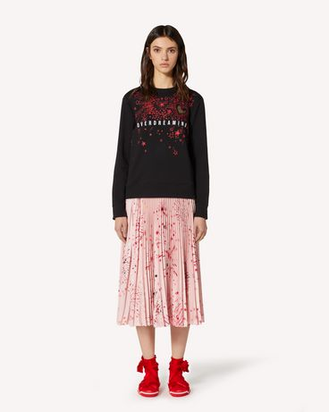 REDValentino EXCLUSIVE CAPSULE COLLECTION Sweatshirt with Fireworks print