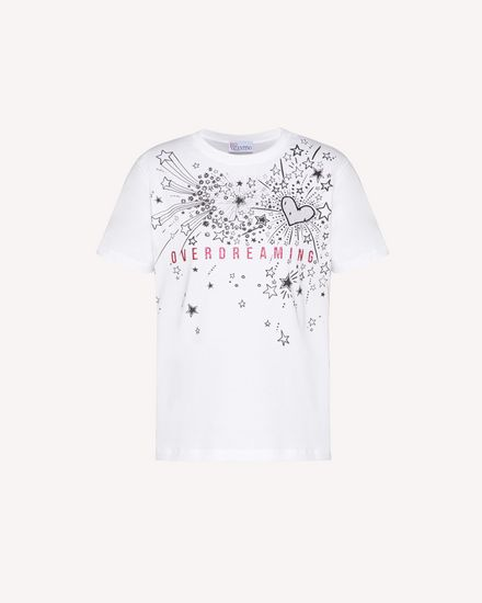 REDValentino T-SHIRT Mujer TRCMG07H56T 0BO a