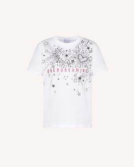 REDValentino EXCLUSIVE CAPSULE COLLECTION T-shirt with Fireworks print