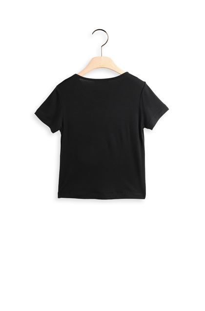 MISSONI KIDS T-shirt Black Woman - Front