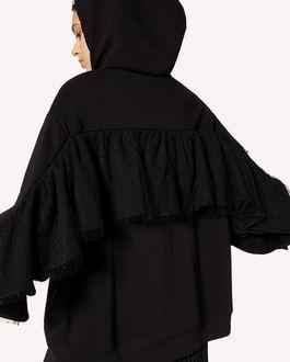 REDValentino Ruffle detail sweatshirt