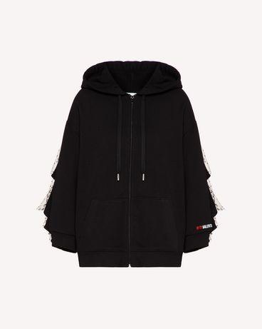 REDValentino TR3MF03P4UD 0NO Sweatshirt Woman a