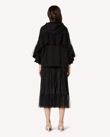 REDValentino TR3MF03P4UD 0NO Sweatshirt Woman r