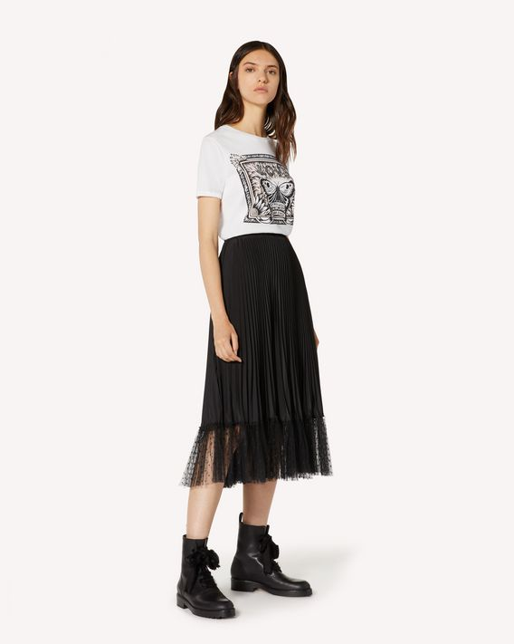 REDValentino Butterfly  printed T-shirt