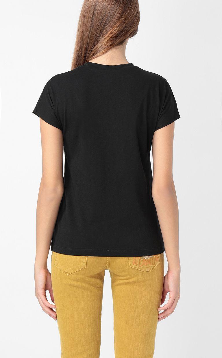 JUST CAVALLI T-shirt with stars print Short sleeve t-shirt Woman a