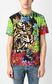 "JUST CAVALLI T-shirt with ""In the Jungle"" print Short sleeve t-shirt Man r"