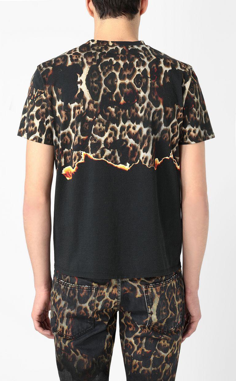 "JUST CAVALLI ""Burning Leo"" t-shirt Short sleeve t-shirt Man a"