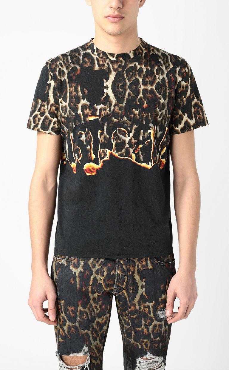"JUST CAVALLI ""Burning Leo"" t-shirt Short sleeve t-shirt Man r"